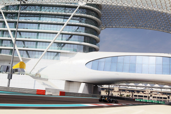 Alexander Rossi (USA) Caterham CT01 Third Driver. Formula One Young Drivers Test, Day Three, Yas Marina Circuit, Abu Dhabi, UAE, Thursday 8 November 2012.