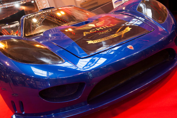 Autosport International Exhibition. National Exhibition Centre, Birmingham, UK. Friday 9 January 2015. The Keating Supercars stand. World Copyright: Edd Hartley/Jakob Ebrey/LAT Photographic. ref: Digital Image _MG_1933