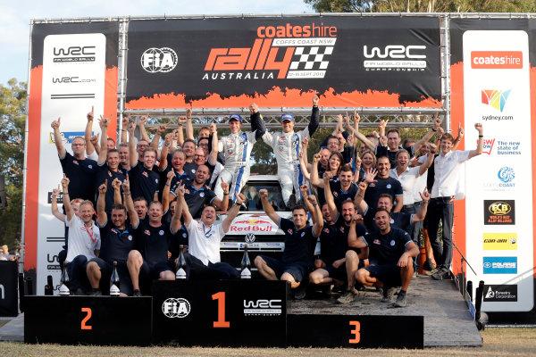 2013 FIA World Rally Championship Round 10, Rally Australia, 12th-15th September 2013. Sebastien Ogier, Volkswagen. Worldwide Copyright: McKlein/LAT