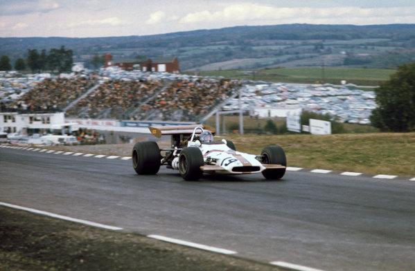 1970 United States Grand Prix. Watkins Glen, New York, USA. 2nd - 4th October 1970. Pedro Rodriguez (B.R.M. P153), 2nd position, action.  World Copyright: LAT Photographic. Ref: 70 USA 15.