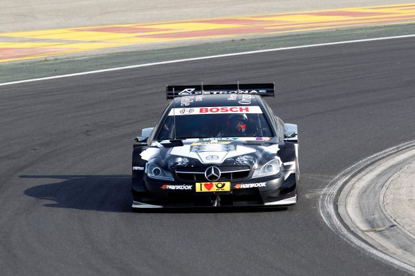 2014 DTM Testing. Hungaroring, Hungary. 31st March 2014. Gary Paffett (GBR) Mercedes AMG DTM-Team HWA World Copyright: XPB / LAT Photographic. Ref: 3030994_HiRes.jpg