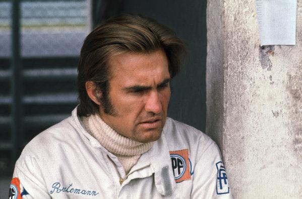 1972 German Grand Prix.  Nurburgring, Germany. 28-30th July 1972.  Carlos Reutemann, Brabham.  Ref: 72GER37. World Copyright: LAT Photographic