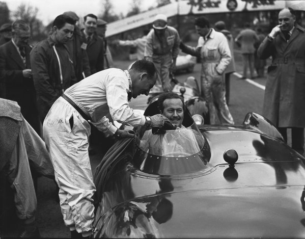 Oulton Park, Cheshire, England. 14th April 1956.