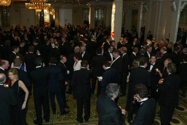 2004 Autosport AwardsGrosvenor House, London, England. 5th December.The Ballroom.World Copyright: LAT Photographicref: Digital Image Only
