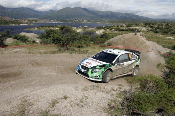 2008 FIA World Rally ChampionshipRound 04Rally Argentina 27-30 of MarchMatthew Wilson, Ford, ActionWorldwide Copyright: McKlein/LAT