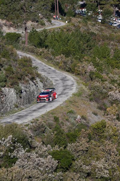 2017 FIA World Rally Championship, Round 04, Rallye de France, Tour de Corse, April 06-09, 2017, Craig Breen, Citroen, action Worldwide Copyright: McKlein/LAT