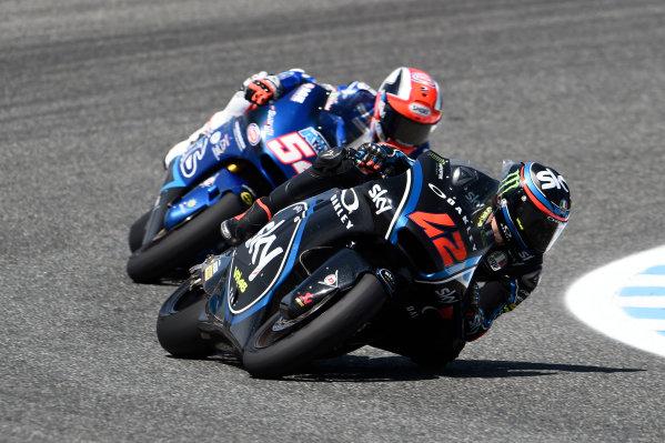 2017 Moto2 Championship - Round 4 Jerez, Spain Sunday 7 May 2017 Francesco Bagnaia, Sky Racing Team VR46 World Copyright: Gold & Goose Photography/LAT Images ref: Digital Image 16385