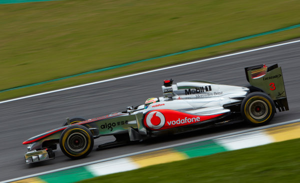 Interlagos, Sao Paulo, Brazil. 26th November 2011. Lewis Hamilton, McLaren MP4-26 Mercedes. Action.  World Copyright: Steve Etherington/LAT Photographic ref: Digital Image SNE27360