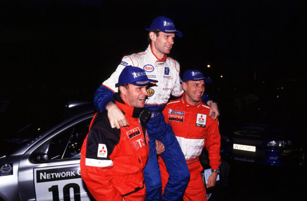 Rally of Great Britain. 23 November 2000. World Copyright - McKlein/LAT Photographic