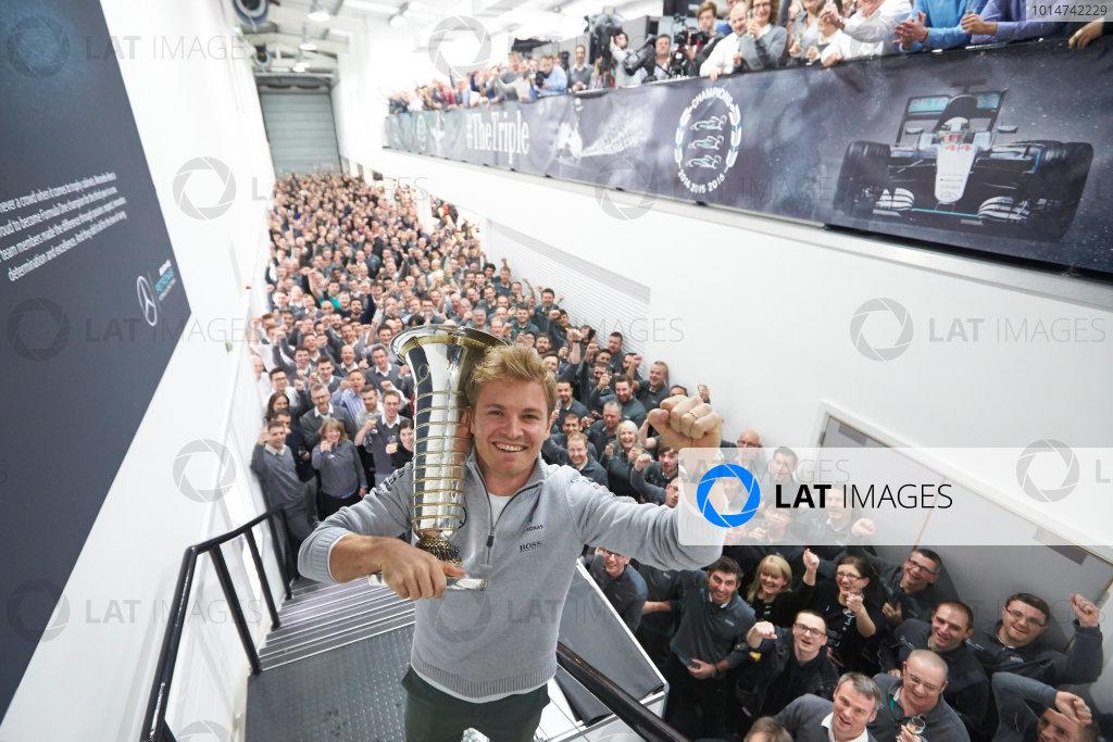 Mercedes AMG F1 F1 World Championship Celebrations