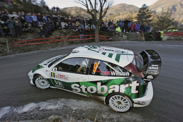 2006 FIA World Rally Champs. Round One, Monte Carlo Rally.19th - 22nd January 2006.Matthew Wilson. Ford. ActionWorld Copyright: McKlein/LAT