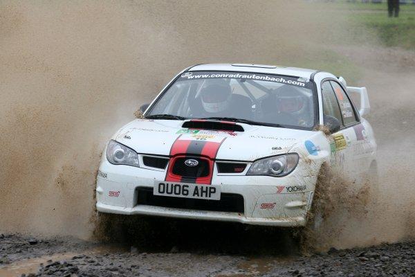 2006 British Rally Championship,Pirelli International Rally, Carlisle 13th-14th May 2006,Conrad Rautenbach,World Copyright: Jakob Ebrey/LAT Photographic.