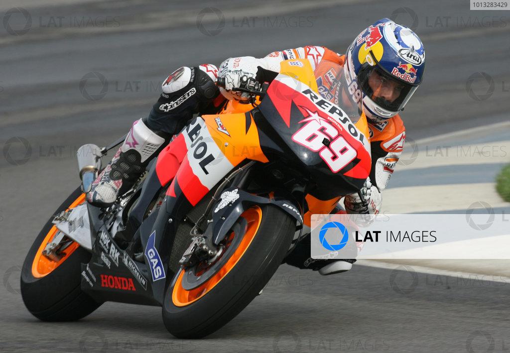 Indianapolis, Indiana USA. 12th - 14th  September  2008.Nicky Hayden Repsol Honda Team.World Copyright: Martin Heath / LAT Photographicref: Digital Image BPI_Moto 5se2