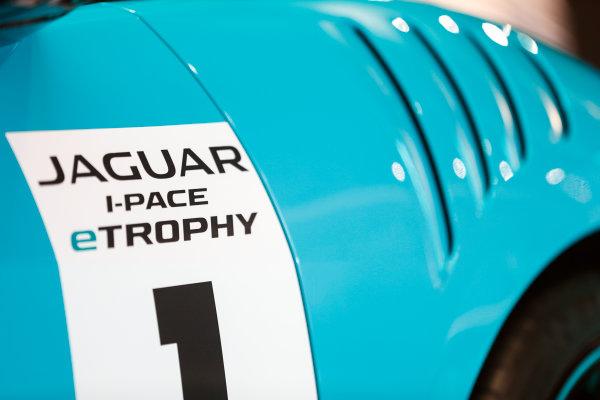 Autosport International Exhibition. National Exhibition Centre, Birmingham, UK. Thursday 11th January 2017. The Jaguar I-Pace Trophy.World Copyright: Glenn Dunbar/LAT Images Ref: _X4I4102