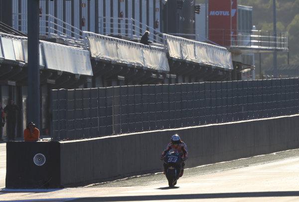 2017 MotoGP Championship - Valencia test, Spain. Tuesday 14 November 2017 Marc Marquez, Repsol Honda Team World Copyright: Gold and Goose / LAT Images ref: Digital Image MotoGP2017-ValenciaTest-Day1-1329