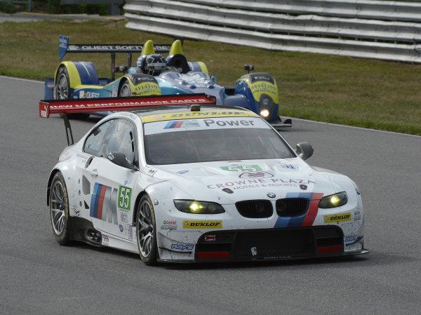 6-7 July, 2012, Lakeville, Connecticut USA#56 BMW Team RLL BMW E92 M3(c)2012 Dan R. Boyd LAT Photo USA