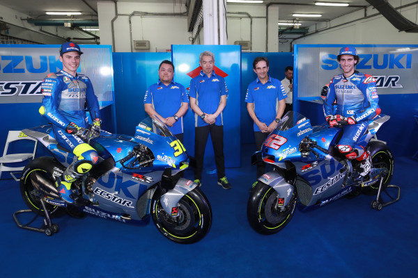 Joan Mir, Team Suzuki MotoGP, Alex Rins, Team Suzuki MotoGP.