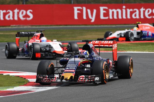 Max Verstappen (NED) Scuderia Toro Rosso STR10 at Formula One World Championship, Rd9, British Grand Prix, Race, Silverstone, England, Sunday 5 July 2015.