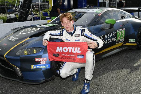 #23: Heart Of Racing Team Aston Martin Vantage GT3, GTD:  Roman De Angelis