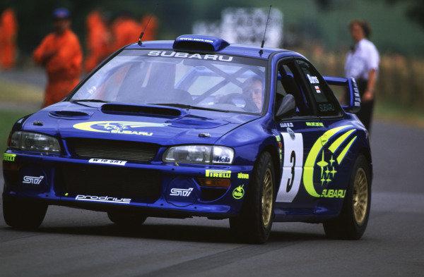 2000 Festival of Speed.Goodwood, England, Great Britain. 23-25 June 2000.Richard Burns (Subaru Impreza WRC)World - LAT Photographic