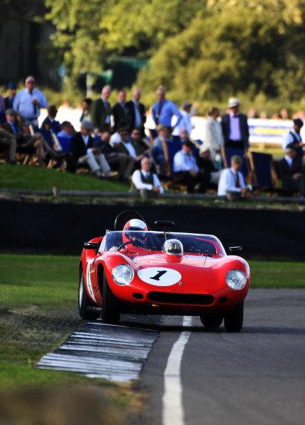 Sussex Trophy Sam Hancock Ferrari 246S Dino