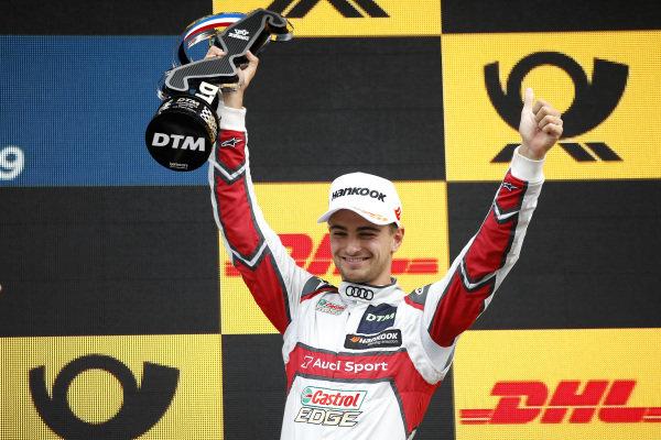 Podium: third place Nico Müller, Audi Sport Team Abt Sportsline.