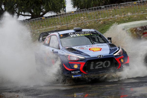 Thierry Neuville, Hyundai Motorsport, Hyundai i20 Coupé WRC 2018,
