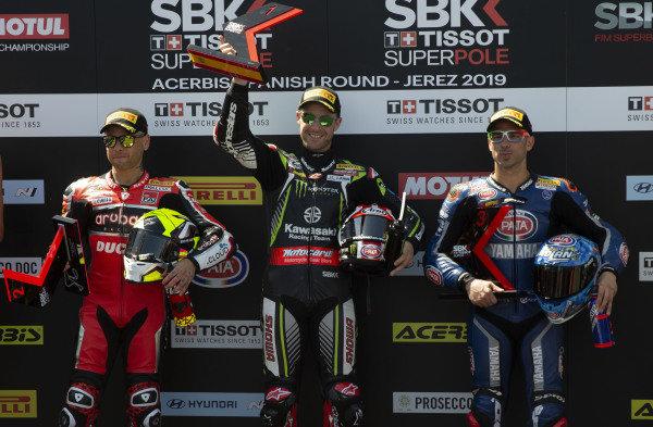 Alvaro Bautista, Aruba.it Racing-Ducati Team, Jonathan Jonathan Rea, Kawasaki Racing, Marco Melandri, GRT Yamaha WorldSBK