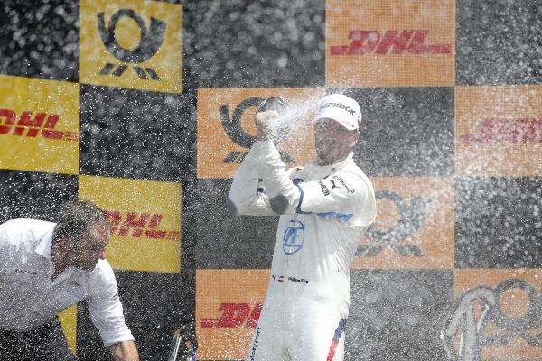 Podium: Philipp Eng, BMW Team RBM.