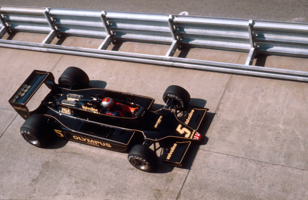 1978 German Grand Prix.Hockenheim, Germany.28-30 July 1978.Mario Andretti (Lotus 79 Ford) 1st position.Ref-78 GER 10.World Copyright - LAT Photographic