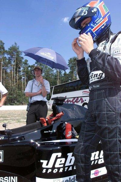 Andrea Piccini (ITA) European Minardi F3000International F3000 qualifying, Hockenheim 27 July 2001DIGITAL IMAGE