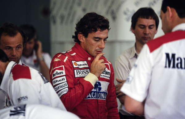 Ayrton Senna.