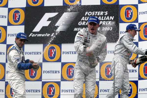 2003 Australian Grand Prix : 2003 Formula 1 Photo