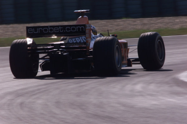 2000 Hungarian Grand Prix - SATURDAY QUALIFYING