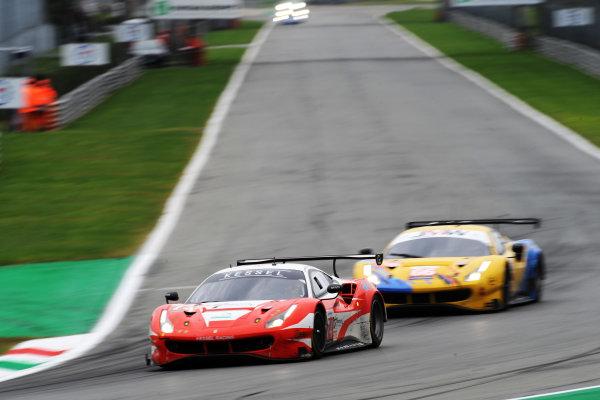 #74 Ferrari 488 GTE Evo / KESSEL RACING / Michael Broniszewski / David Perel / Nicola Cadei