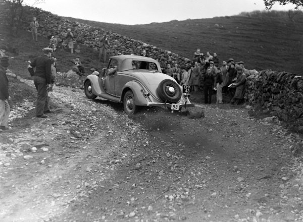 B. Burton, Ford V8.