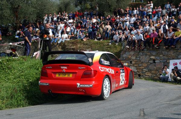 Znalezione obrazy dla zapytania Citroen Xsara WRC 2001 back