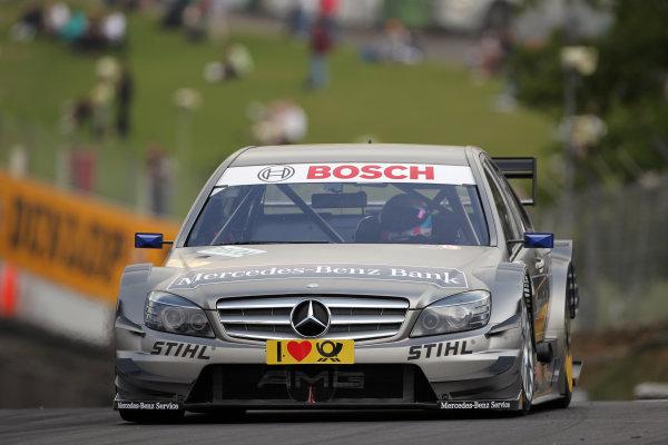 Bruno Spengler (CDN), Mercedes-Benz Bank AMG, Mercedes-Benz Bank AMG C-Klasse (2009).DTM, Rd7, Brands Hatch, England, 3-5 September 2010.World Copyright: LAT Photographicref: dne1004se262