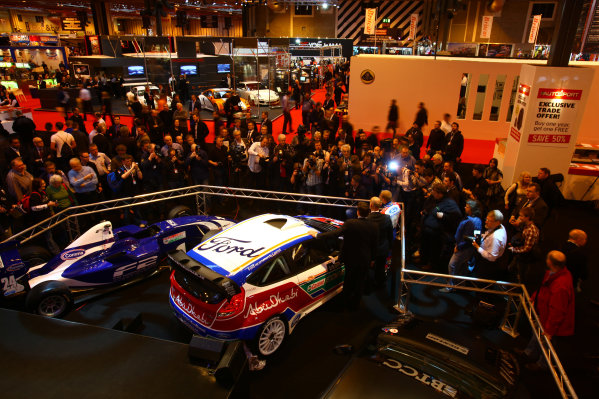NEC, Birmingham. 13th January 2011.Ford WRC launch their new car.World Copyright: Malcolm Griffiths/LAT Photographicref: Digital Image IMG_6440