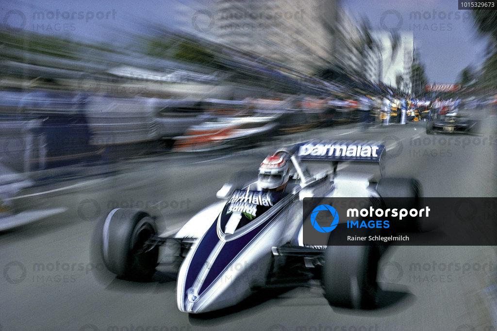 Nelson Piquet, Brabham BT49D Ford.