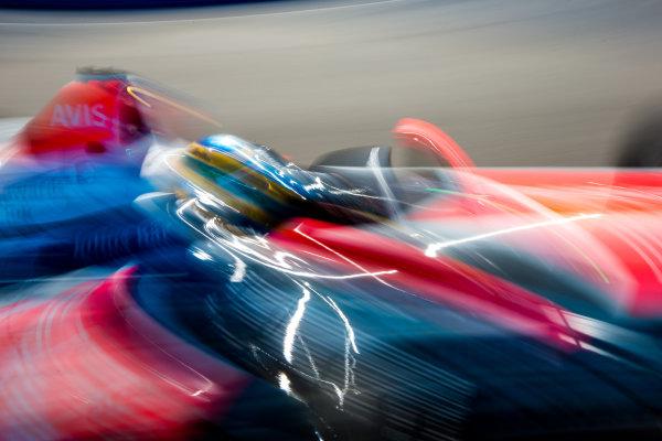 2015/2016 FIA Formula E Championship. Testing, Punta del Este, Uruguay. Sunday 20 December 2015. Bruno Senna (BRA), Mahindra Racing M2ELECTRO. Photo: Zak Mauger/LAT/Formula E ref: Digital Image _L0U0287