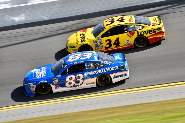 13-21 February, 2016, Daytona Beach, Florida, USA Michael Waltrip (83), Chris Buescher (34) ?2016, John Harrelson / LAT Photo USA