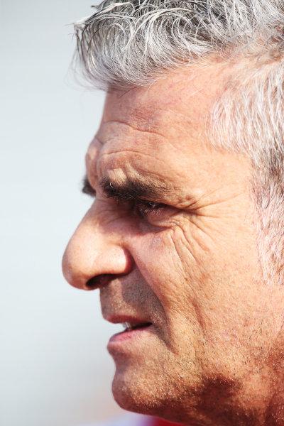 Autodromo Nazionale di Monza, Monza, Italy. Friday 4 September 2015. Mauricio Arrivabene, Team Principal, Ferrari. World Copyright: Jed Leicester/LAT Photographic ref: Digital Image JL1_8114
