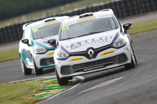 2015 Renault Clio Cup, Croft, 27th-28th June 2015, Rory Green (GBR) WDE Motorsport Renault Clio Cup  World copyright. Jakob Ebrey/LAT Photographic