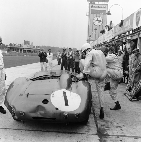 Nurburgring, Germany. 7th June 1959.