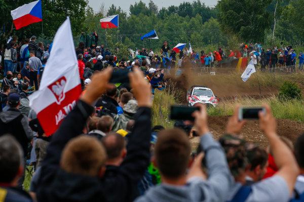 2017 FIA World Rally Championship, Round 08, Rally Poland / June 29 - July 2 2017, Esapekka Lappi, Toyota, action, Worldwide Copyright: McKlein/LAT