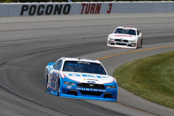 NASCAR XFINITY Series Pocono Green 250 Pocono Raceway, Long Pond, PA USA Friday 9 June 2017 Brad Keselowski, SKF Ford Mustang World Copyright: Matthew T. Thacker LAT Images ref: Digital Image 17POC1mt1012