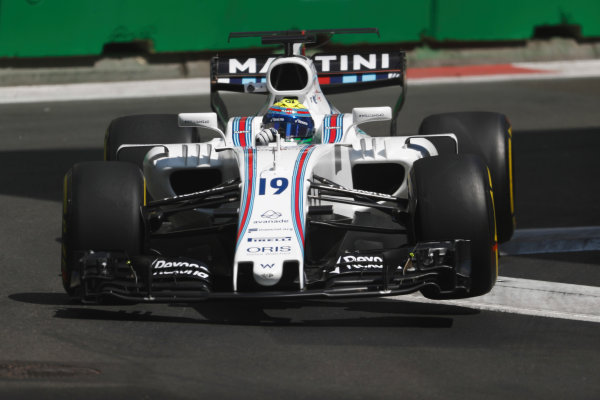 Baku City Circuit, Baku, Azerbaijan. Friday 23 June 2017. Felipe Massa, Williams FW40 Mercedes. World Copyright: Glenn Dunbar/LAT Images ref: Digital Image _X4I0229