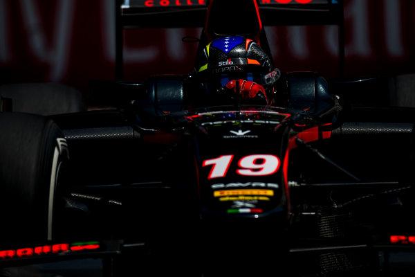 2017 FIA Formula 2 Round 4. Baku City Circuit, Baku, Azerbaijan. Friday 23 June 2017.Johnny Cecotto Jr. (VEN, Rapax)  Photo: Zak Mauger/FIA Formula 2. ref: Digital Image _54I0226