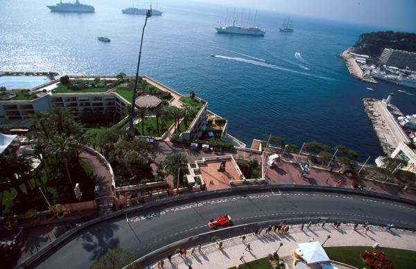Winner Michael Schumacher(GER) Ferrari F399 Monaco GP, 16 May 1999